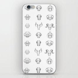 Cracking skulls iPhone Skin
