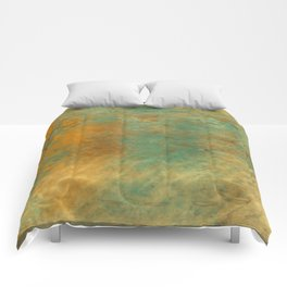Copper and Turquoise Comforters