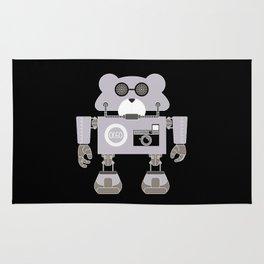 Robot Alpha 60 (Hommage à Jean-Luc Godard) Rug
