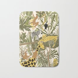 Th Jungle Life Bath Mat