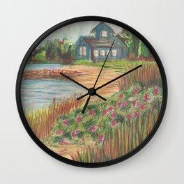 Beach House 2 Wall Clock