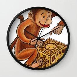 Monkey Puzzle Wall Clock