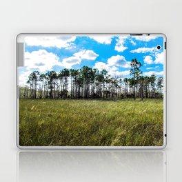 Cypress Trees and Blue Skies Laptop & iPad Skin