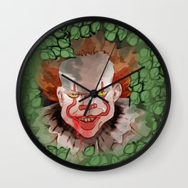 Its Pennywise Wall Clock