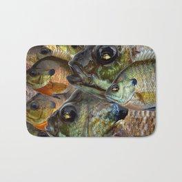 Bluegill Kaleidoscope 1 Bath Mat