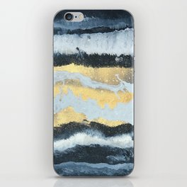 VITAMIN | Abstract acrylic art by Natalie Burnett Art iPhone Skin