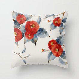 Chinese Painting | Camilla Throw Pillow