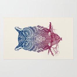 Evening Warrior Owl Rug