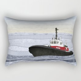 Tugboat Rectangular Pillow