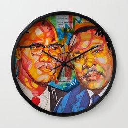 Malcolm X King Wall Clock