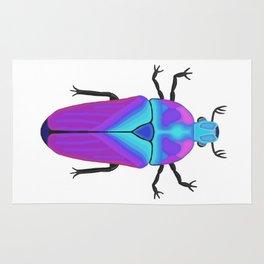 Colorful Beetle Bug #2 Rug