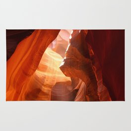 A Canyon Sculptured By Water Rug