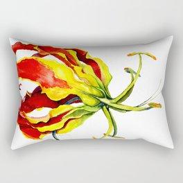 Gloriosa Lily Rectangular Pillow