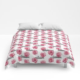 Subs and Roses Comforters