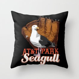AT&T Seagull Throw Pillow