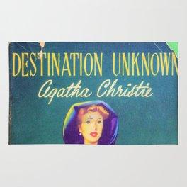 Destination Unknown - Agatha Christie Rug