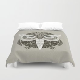 Wise Old Owl Says Duvet Cover