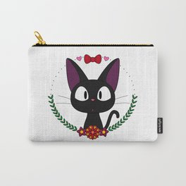 Little Black Cat Carry-All Pouch