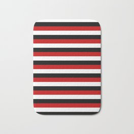 Trinidad and Tobago Yemen flag Amsterdam stripes Bath Mat