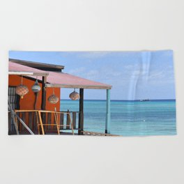 Grand Turk Bungalow Beach Towel