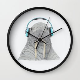 The better to Hear You / Para Oírte Mejor Wall Clock