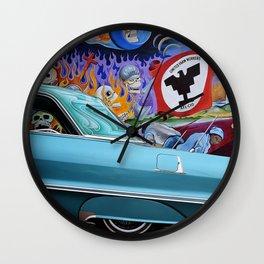 Impala en Aztlan Wall Clock