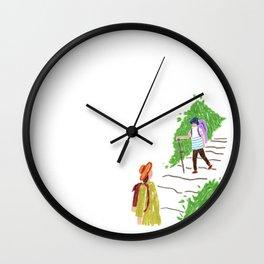 C l i m b Wall Clock
