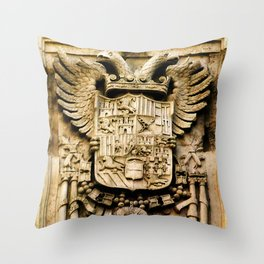 Signs of Power Throw Pillow
