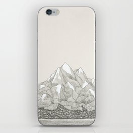 The Mountains and the Woods iPhone Skin