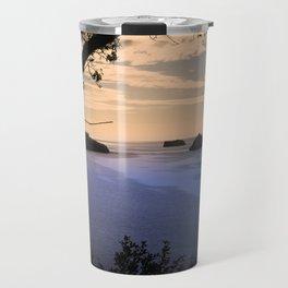 Thatchers Rock and Hope's Nose At Sunset Travel Mug