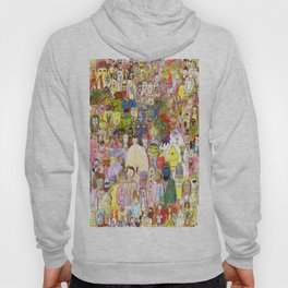 The Fuzzy Crowd Hoody