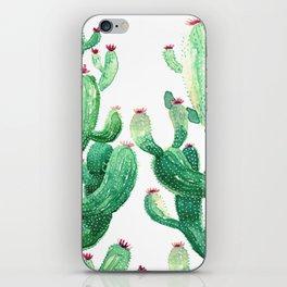 twin cactus iPhone Skin