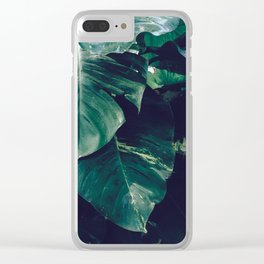 Green Leaves - Bali - Travel Photography Clear iPhone Case