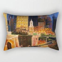 Dawn at City Hall Rectangular Pillow