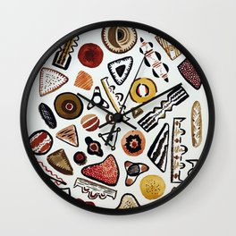 Diatoms! - A science illustration Wall Clock