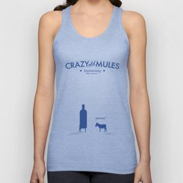 Crazy old Mule / Absolut Unisex Tank Top