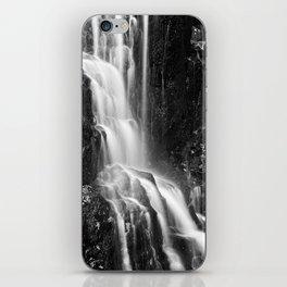 Avalon Falls - Black & White iPhone Skin