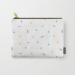 90's Pattern Carry-All Pouch