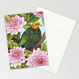 Whistling Fruit Dove in Spring Stationery Cards