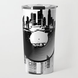 Urban Vinyl of Underground Music Travel Mug