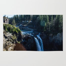 Snoqualmie Falls Rug