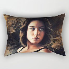 Daisy Johnson. Agent of SHIELD Rectangular Pillow