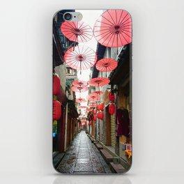 Asia in Red iPhone Skin