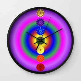 Align your energy centres Wall Clock