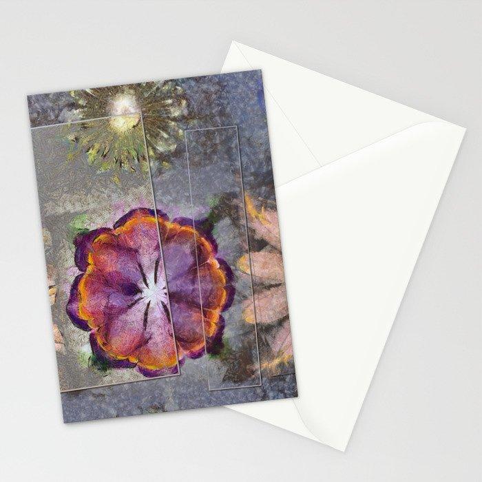 Stickball Au Naturel Flower  ID:16165-150329-07211 Stationery Cards