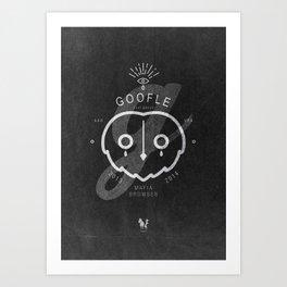 Goofle Mafia Browser Art Print
