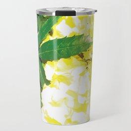 Pretty yellow flowers Travel Mug
