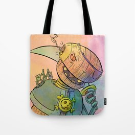Robot Pirate Tote Bag