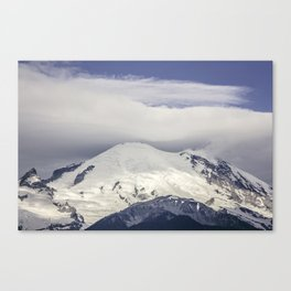Mountain Top of Mt Rainier Canvas Print