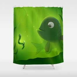 Double-Take Shower Curtain